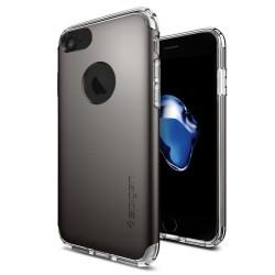 "Pilkas dėklas Apple iPhone 7 telefonui ""Spigen Hybrid Armor"""