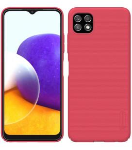"Raudonas dėklas Samsung Galaxy A22 5G telefonui ""Nillkin Frosted Shield"""