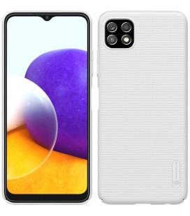 "Baltas dėklas Samsung Galaxy A22 5G telefonui ""Nillkin Frosted Shield"""