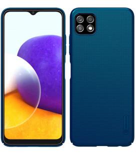 "Mėlynas dėklas Samsung Galaxy A22 5G telefonui ""Nillkin Frosted Shield"""