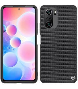 """Juodas dėklas Xiaomi Poco F3 telefonui """"Nillkin Textured Hard Case"""""""