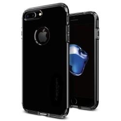 "Blizgus juodas dėklas Apple iPhone 7 telefonui ""Spigen Hybrid Armor"""