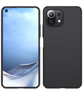 "Juodas dėklas Xiaomi Mi 11 Lite telefonui ""Nillkin Frosted Shield"""