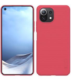"""Raudonas dėklas Xiaomi Mi 11 Lite telefonui """"Nillkin Frosted Shield"""""""