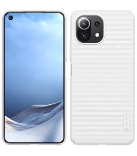 "Baltas dėklas Xiaomi Mi 11 Lite telefonui ""Nillkin Frosted Shield"""