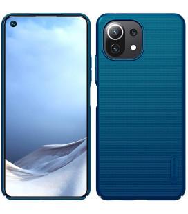 "Mėlynas dėklas Xiaomi Mi 11 Lite telefonui ""Nillkin Frosted Shield"""