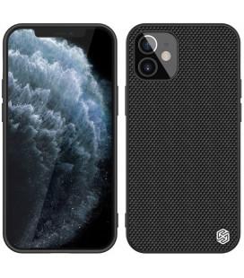 "Juodas dėklas Apple iPhone 12 Mini telefonui ""Nillkin Textured Hard Case"""