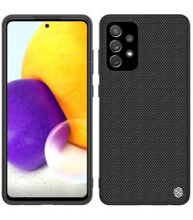 "Juodas dėklas Samsung Galaxy A72 telefonui ""Nillkin Textured Hard Case"""
