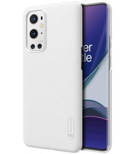 """Baltas dėklas Oneplus 9 Pro telefonui """"Nillkin Frosted Shield"""""""