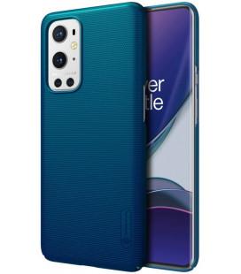 "Mėlynas dėklas Oneplus 9 Pro telefonui ""Nillkin Frosted Shield"""