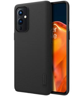 """Juodas dėklas Oneplus 9 telefonui """"Nillkin Frosted Shield"""""""