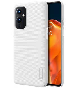 """Baltas dėklas Oneplus 9 telefonui """"Nillkin Frosted Shield"""""""