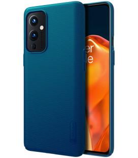 "Mėlynas dėklas Oneplus 9 telefonui ""Nillkin Frosted Shield"""