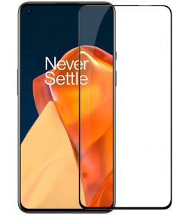 """Juodas apsauginis grūdintas stiklas Oneplus 9 telefonui """"Nillkin Amazing 2.5D CP+ Pro"""""""