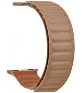 "Ruda apyrankė Apple Watch 1/2/3/4/5/6/7/SE (42/44/45mm) laikrodžiui ""Tactical 735 Loop Leather Band"""