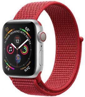 """Raudona apyrankė Apple Watch 1/2/3/4/5/6/7/SE (42/44/45mm) laikrodžiui """"Tactical 545 Cloth Band"""""""