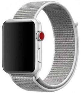 """Sidabrinės spalvos apyrankė Apple Watch 1/2/3/4/5/6/7/SE (42/44/45mm) laikrodžiui """"Tactical 547 Cloth Band"""""""
