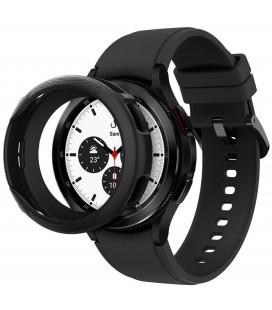 """Juodas dėklas Samsung Galaxy Watch 4 Classic 46mm laikrodžiui """"Spigen Liquid Air"""""""
