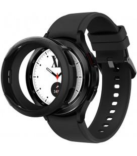 """Juodas dėklas Samsung Galaxy Watch 4 Classic 42mm laikrodžiui """"Spigen Liquid Air"""""""