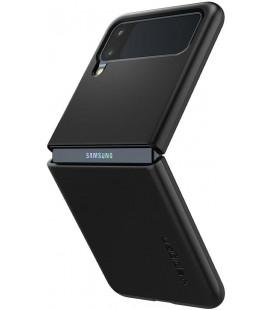 "Juodas dėklas Samsung Galaxy Z Flip 3 telefonui ""Spigen Thin Fit"""