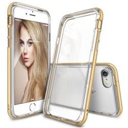 """Auksinės spalvos dėklas Apple iPhone 7/8 telefonui """"Ringke Frame"""""""