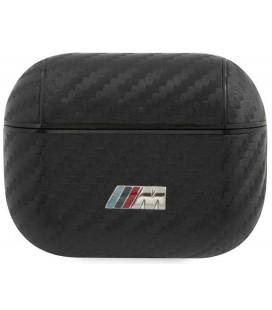 """Juodas dėklas Apple Airpods Pro ausinėms """"BMAPCMPUCA BMW M Carbon Case"""""""
