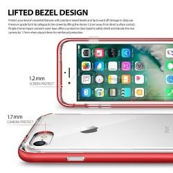 """Sidabrinės spalvos silikoninis dėklas LG G5 telefonui """"Mirror"""""""