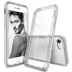 """Sidabrinės spalvos dėklas Apple iPhone 7/8 telefonui """"Ringke Frame"""""""