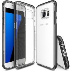 """Juodas dėklas Samsng Galaxy S7 Edge telefonui """"Ringke Frame"""""""