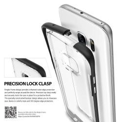 """Auksinės spalvos silikoninis dėklas Samsung Galaxy A5 2016 telefonui """"Mirror"""""""