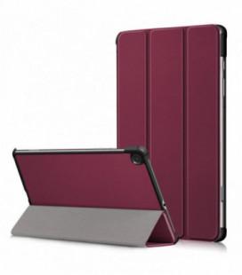 Dėklas Smart Leather Samsung T220/T225 Tab A7 Lite 8.7 bordo