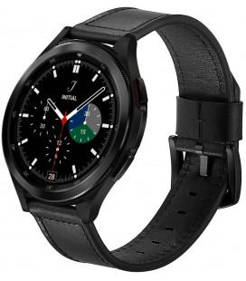 """Juoda apyrankė Samsung Galaxy Watch 4 40 / 42 / 44 / 46 mm laikrodžiui """"Tech-Protect Herms"""""""