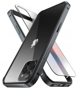 """Juodas dėklas Apple iPhone 12/12 Pro telefonui """"Supcase UB Edge Pro"""""""