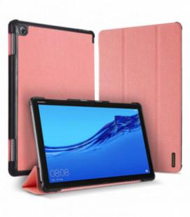 Dėklas Dux Ducis Domo Samsung T220/T225 Tab A7 Lite 8.7 2021 rožinis