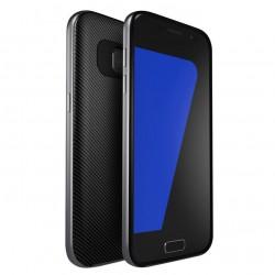 """Pilkas CARBON dėklas Samsung Galaxy S7 Edge telefonui """"U.Case"""""""