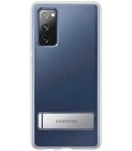 """Originalus skaidrus dėklas """"Standing Cover"""" Samsung Galaxy S20 FE telefonui """"EF-JG780CTE"""""""