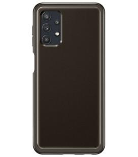 "Originalus juodas dėklas ""Soft Clear Cover"" Samsung Galaxy A32 5G telefonui ""EF-QA326TBE"""
