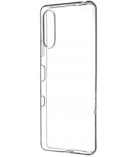 """Skaidrus dėklas Sony Xperia 10 III telefonui """"Tactical TPU Cover"""""""