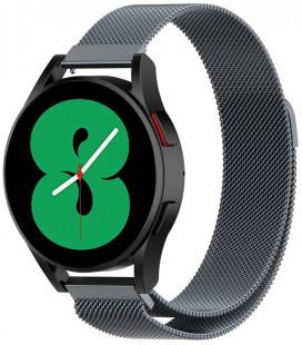 """Pilka apyrankė Samsung Galaxy Watch 4 40 / 42 / 44 / 46 mm laikrodžiui """"Tech-Protect Milaneseband"""""""