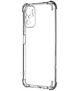"Skaidrus dėklas Xiaomi Redmi Note 10 / 10S telefonui ""Tactical TPU Plyo Cover"""