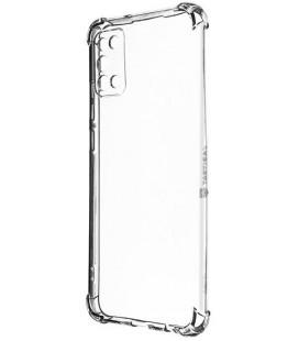 "Skaidrus dėklas Samsung Galaxy A02S telefonui ""Tactical TPU Plyo Cover"""