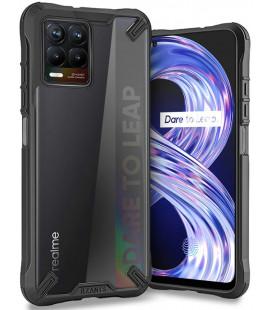 """Juodas dėklas Realme 8 / 8 Pro telefonui """"Tech-protect Rzants"""""""