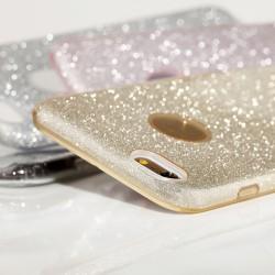 """Skaidrus silikoninis dėklas Samsung Galaxy S5/S5 Neo telefonui """"Fitty Double"""""""