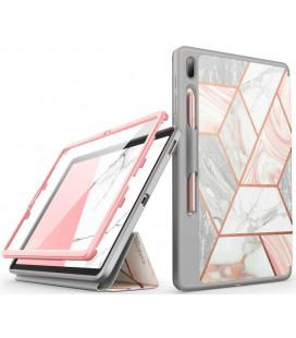 """Atverčiamas dėklas Samsung Galaxy S7 FE 5G 12.4 T730 / T736B planšetei """"Supcase Cosmo Marble"""""""