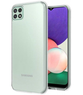 "Skaidrus dėklas Samsung Galaxy A22 telefonui ""High Clear 1,0mm"""