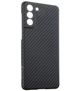 "Juodas dėklas Samsung Galaxy S21 Plus telefonui ""Tactical MagForce Aramid Cover"""