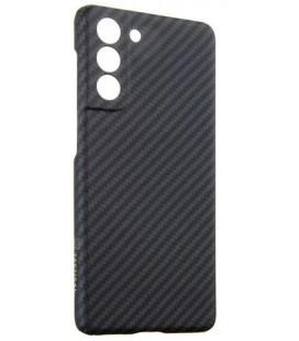 "Juodas dėklas Samsung Galaxy S21 telefonui ""Tactical MagForce Aramid Cover"""