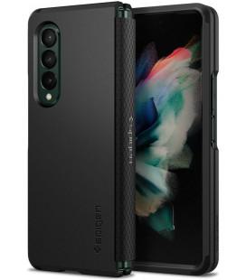"Juodas dėklas Samsung Galaxy Z Fold 3 telefonui ""Spigen Tough Armor"""