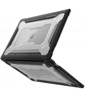 """Juodas dėklas Apple Macbook Pro 16 2019/2021 kompiuteriui """"Spigen Rugged Armor"""""""
