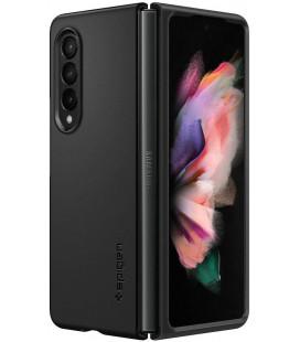 "Juodas dėklas Samsung Galaxy Z Fold 3 telefonui ""Spigen Thin Fit"""